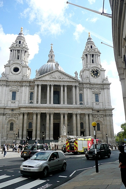 St Paul's west entrance