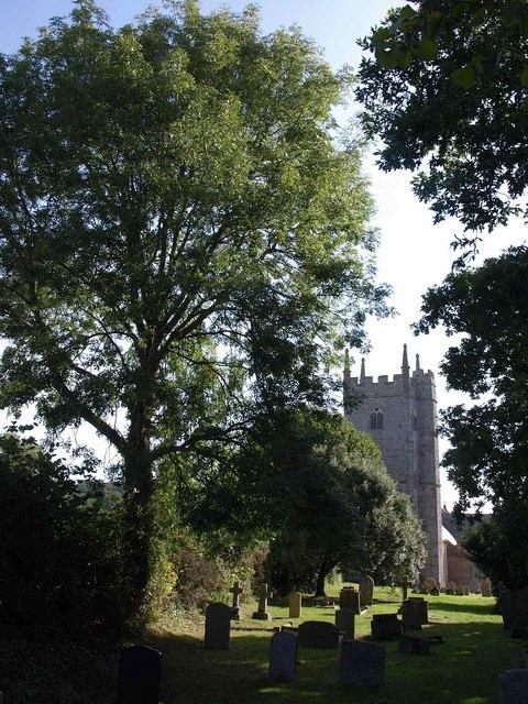 Churchyard, Tedburn St Mary