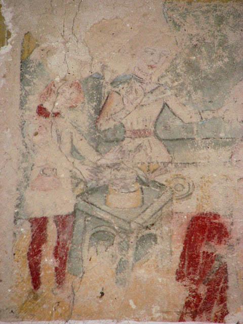 St Michael's church - wall painting