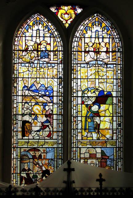 St Michael's church - east window