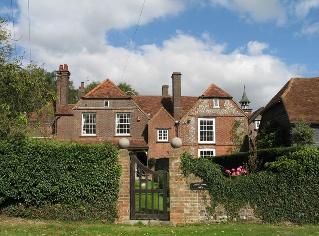 House at Lee, Buckinghamshire (Arts & Crafts Garden Gate)
