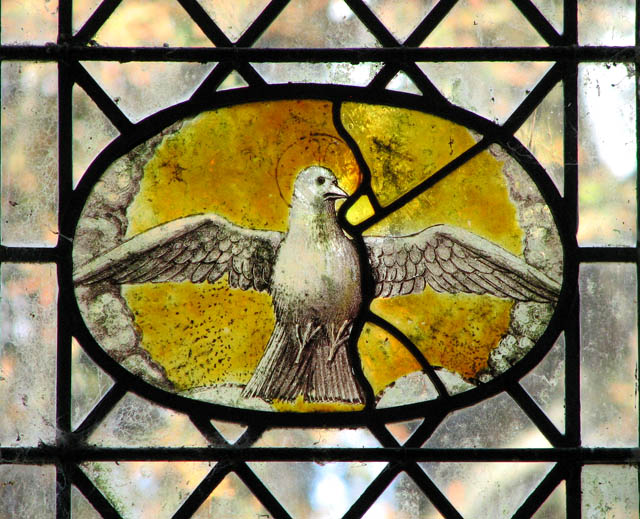 St Michael's church - Continental stained glass