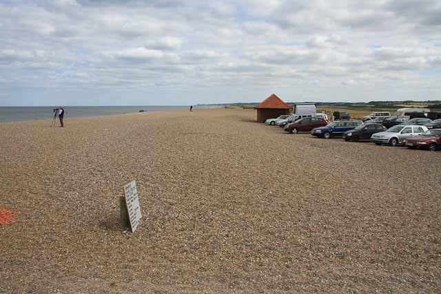 Cley beach car park
