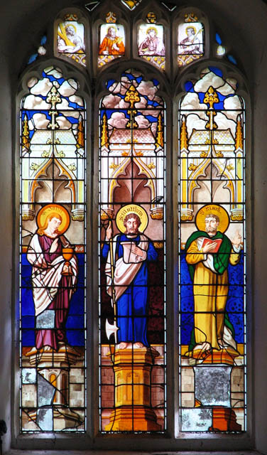 St Michael's church - west window