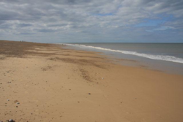 Low tide along Blakeney Point