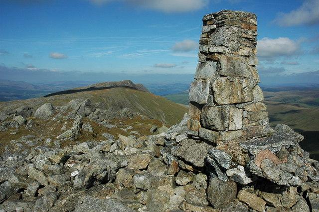 Summit of Aran Fawddwy
