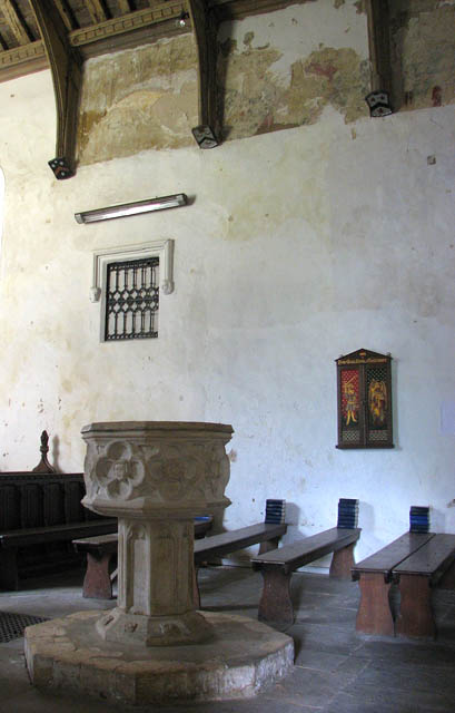St Michael's church - baptismal font