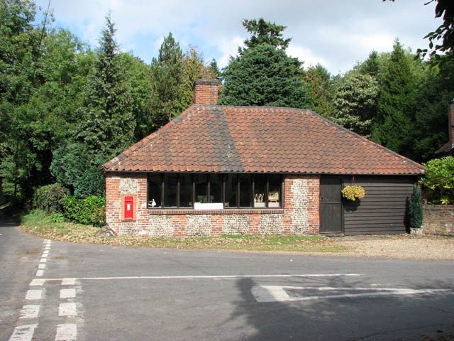 The old Langley Forge - now a gallery