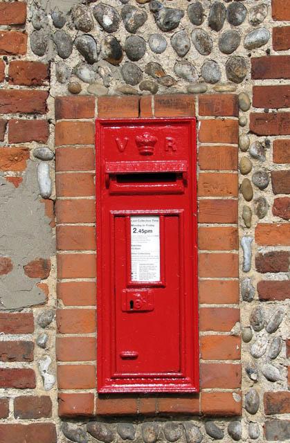 Victorian wallbox