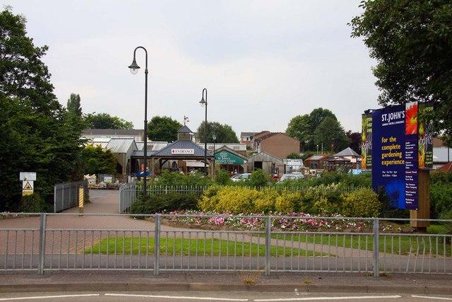St John's Garden Centre in Barnstaple