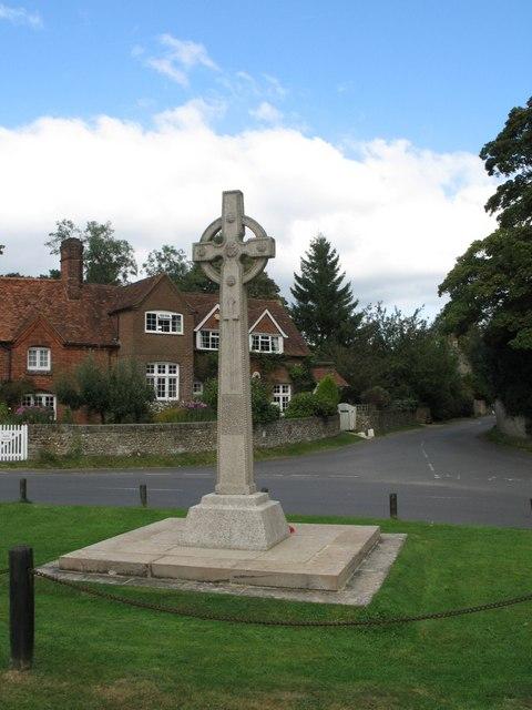 War Memorial at Lee, Buckingshire