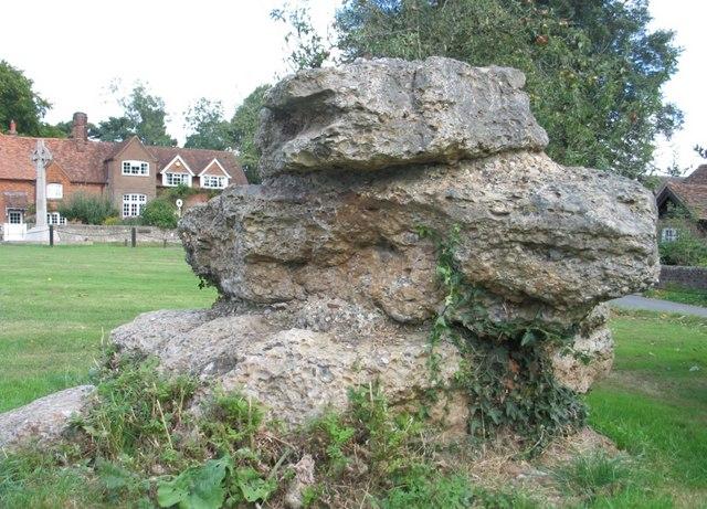 Hertfordshire Puddingstone, Lee, Buckinghamshire