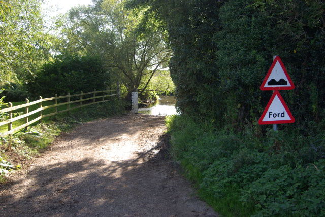 To the ford at Little Lawford