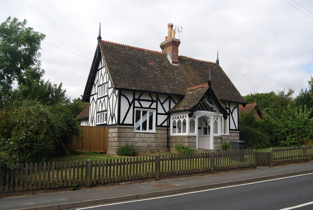 Half timbered & half stone cottage, Eridge Green
