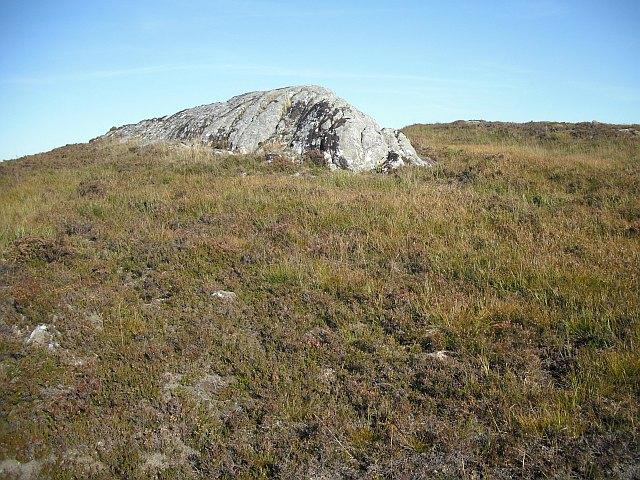 Outcrop,  Coire Maol Chaluim