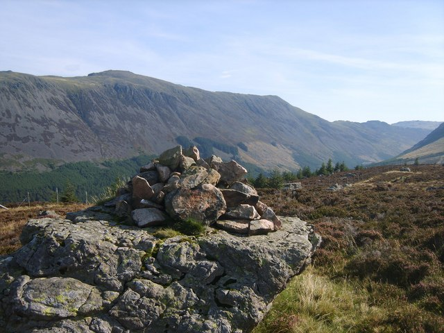 Cairn on Lingmell