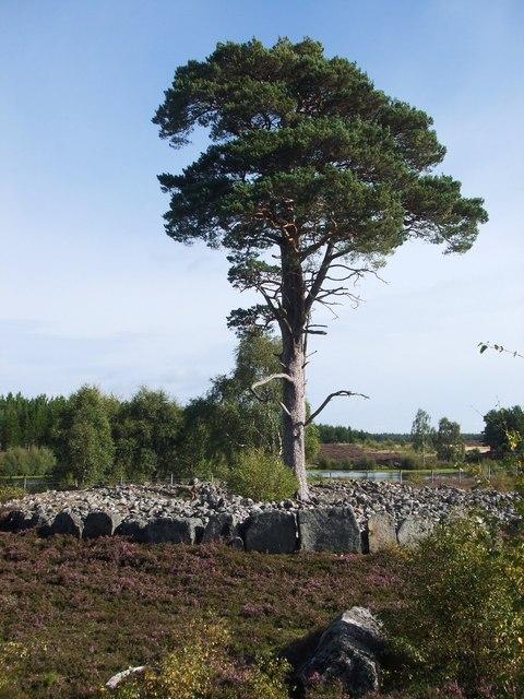 Granish Ring -Cairn, (Loch na Carraigean)