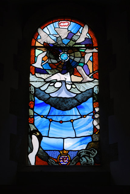 HMS Glamorgan window