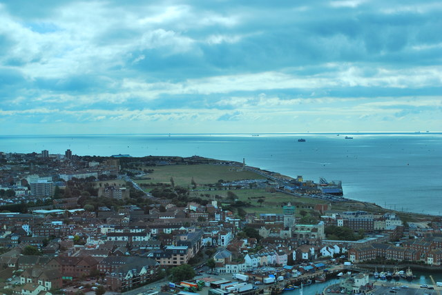 Spinnaker Tower view