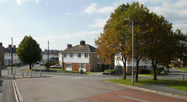 Maesglas junctions, Newport
