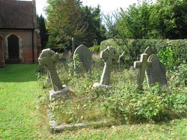 Graveyard, St. John the Baptist Church, Lee, Buckinghamshire