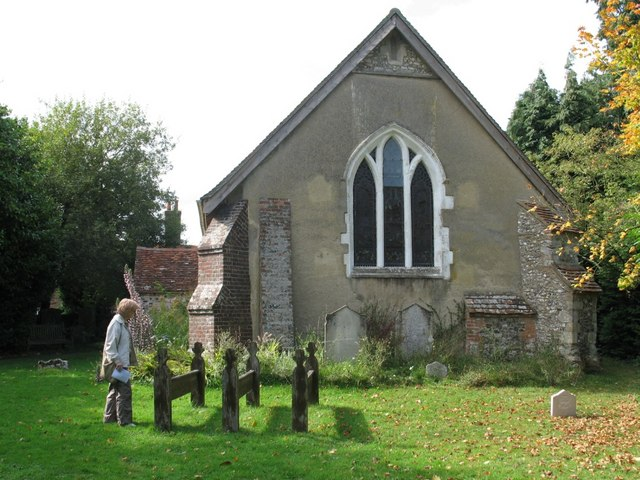 Wooden Grave Markers, Lee, Buckinghamshire