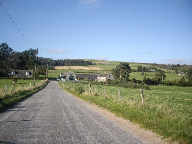 Approach to Balnaboth from Finzean