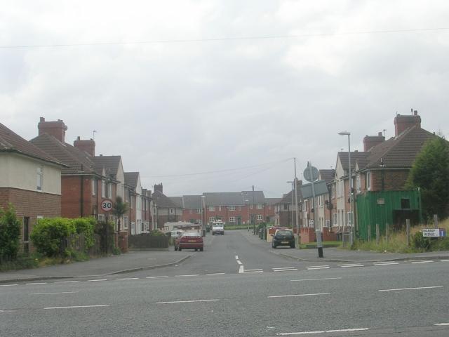 Harrop Avenue - Britannia Road
