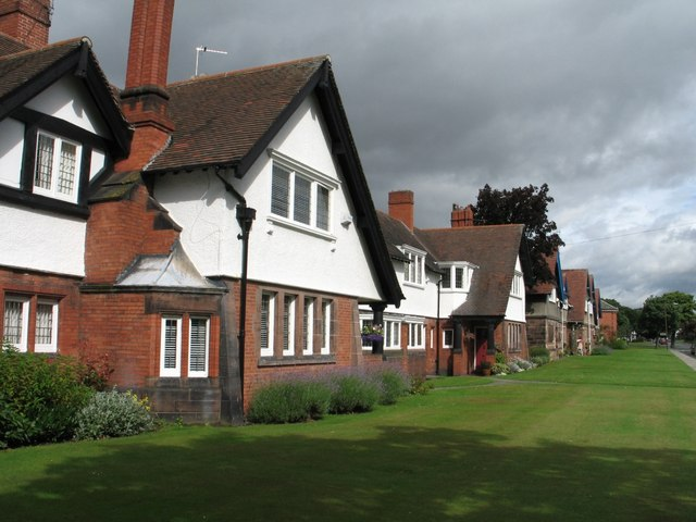 Houses at Port Sunlight (Church Drive)
