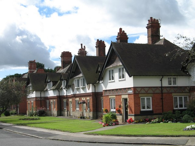 Houses at Port Sunlight (Riverside)