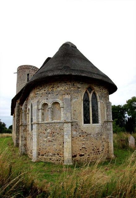 St Margaret, Hales, Norfolk - Apse