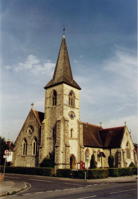 All Saints, Alton