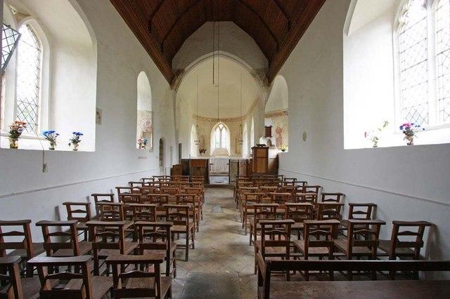 St Margaret, Hales, Norfolk - East end