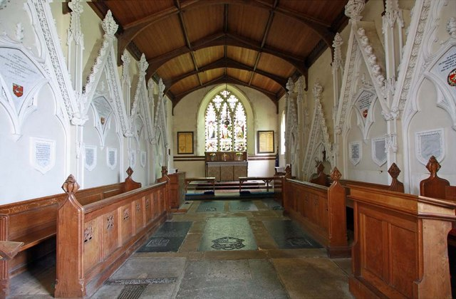 St Andrew, Ravingham, Norfolk - Chancel