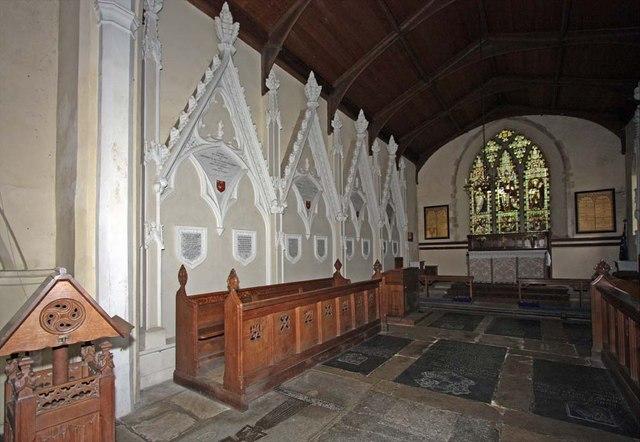St Andrew, Ravingham, Norfolk - Chancel