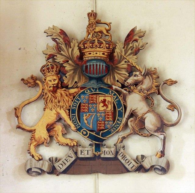 St Andrew, Ravingham, Norfolk - Royal Arms