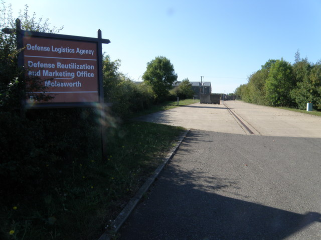 Military recycling centre on Cockbrook Lane