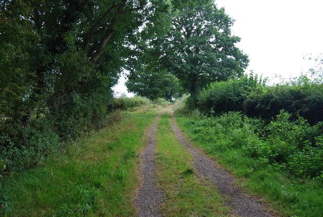 Tunbridge Wells Circular Path south of Pinstraw Farm