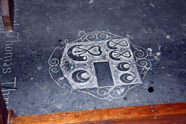 St Mary, Stradsett, Norfolk - Ledger slab