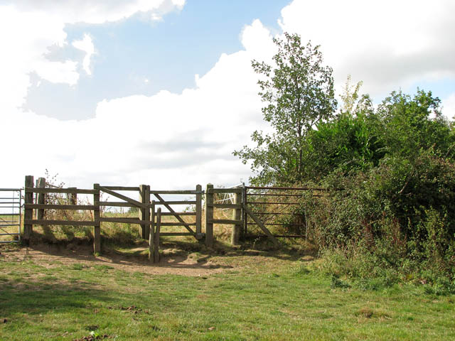 Kissing gate on the Wherryman's Way