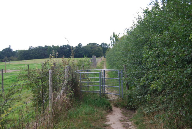Kissing Gate on the Tunbridge Wells Circular Path