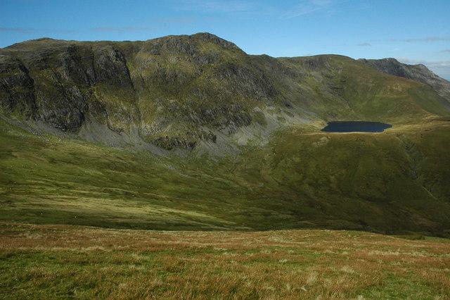 Aran Fawddwy ridge from Drysgol