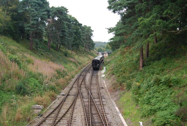 Spa Valley Line near Groombridge