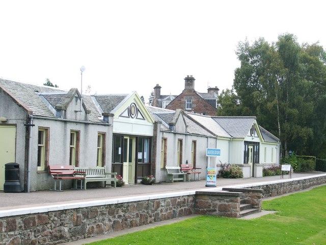 Old Railway Station at Aberlour