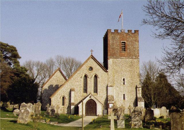 All Saints, Catherington