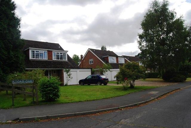 Houses on Broad Oak, Groombridge