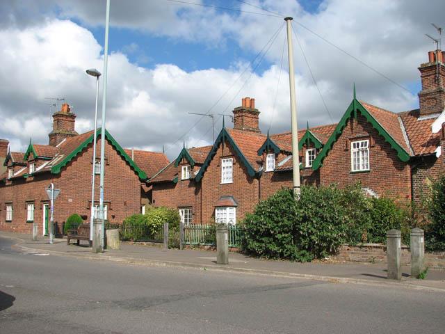 Almshouses in Langley Road