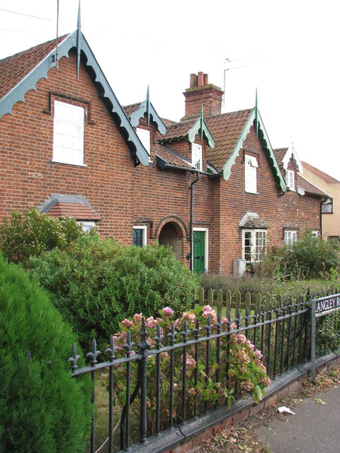 Almshouses in Langley Road