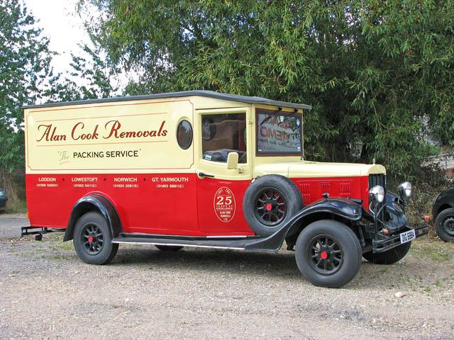 Alan Cook Removals Ltd - the removal van