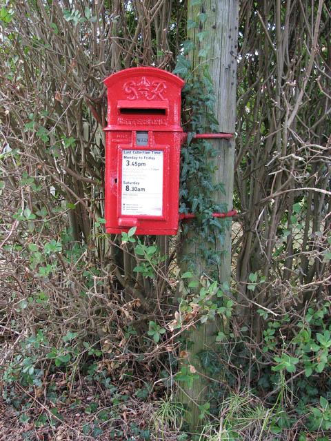 George VI postbox